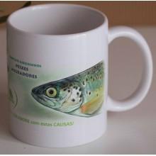 Caneca Peixes Migradores